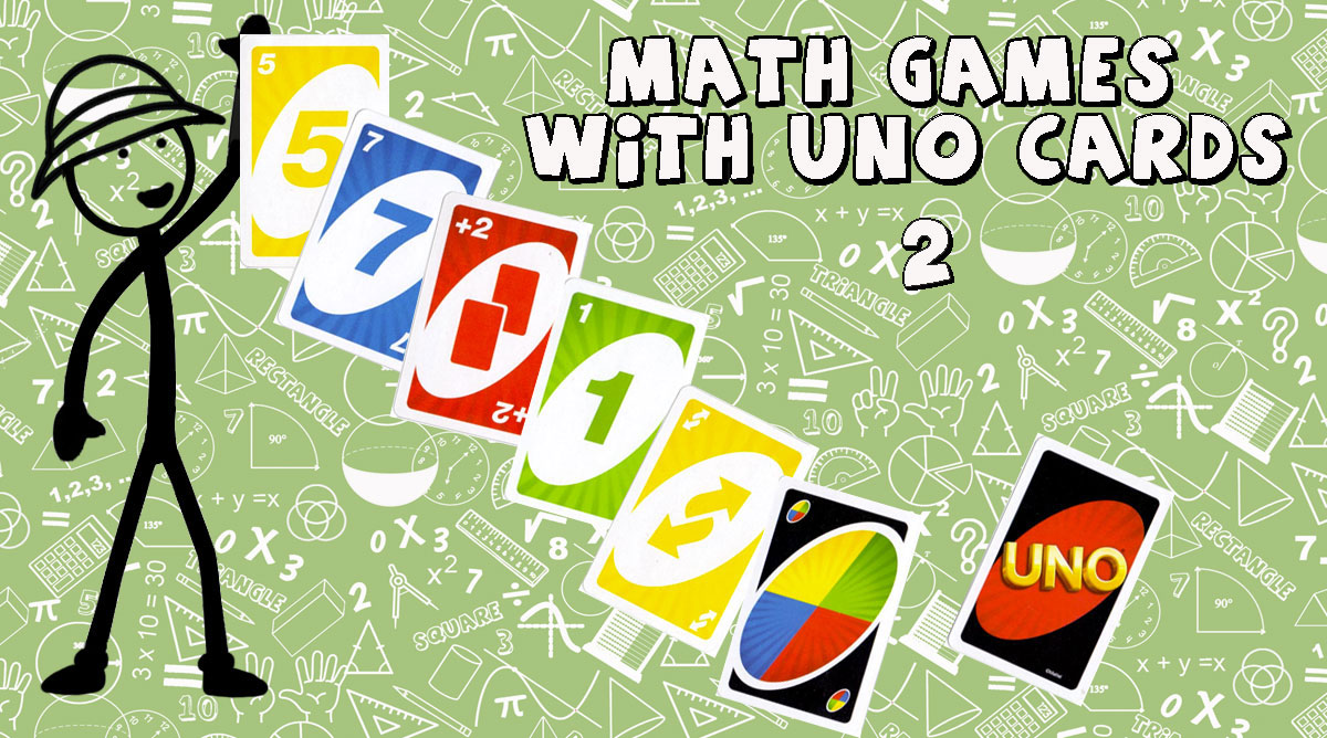 Math Games with UNO cards 2