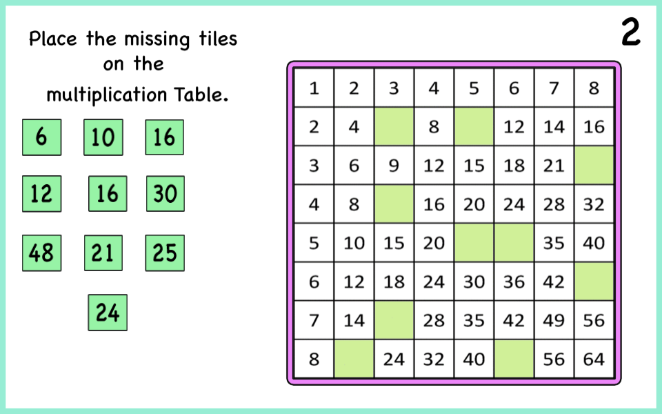 This image has an empty alt attribute; its file name is missing_multiplication_table-28.png
