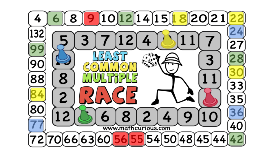 LCM Race – Finding LCM (game)